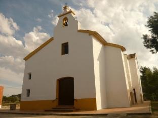Fachada exterior de la ermita