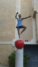 Bailarina de Stephan Balkenhol