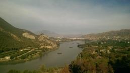 Mirador del Azud de Ojós.