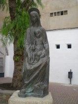 Virgen del pajarico de Antonio Campillo.